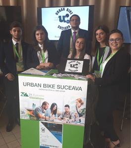 """Echipa de studenți USV în finala națională a concursului """"Company of the year 2018 Junior Achivement Romania"""""""