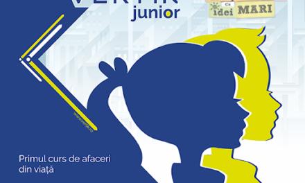 """Educația financiară și antreprenorială pentru copii, soluție pentru dezvoltare națională prin proiectul """"VERTIK Junior"""""""