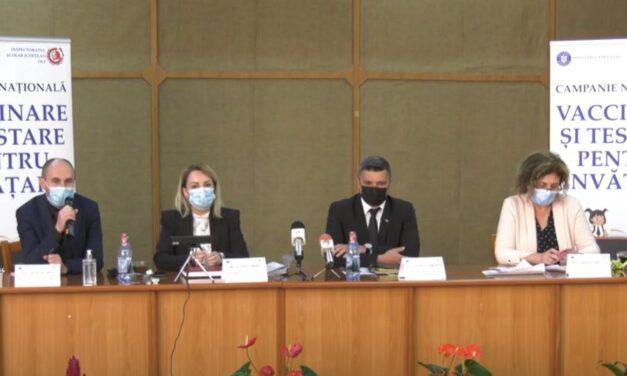 Maria Manea (Ministerul Educaţiei): Peste 50% din angajaţii din învăţământ au fost vaccinaţi anti-COVID