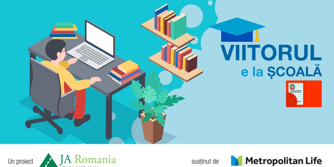 VIITORUL E LA ȘCOALĂ, proiect pentru școli și elevi din medii dezavantajate