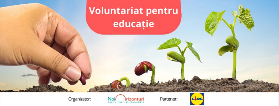 Angajații pot face acum voluntariat în școli prin programul lansat de Fundația Noi Orizonturi în România