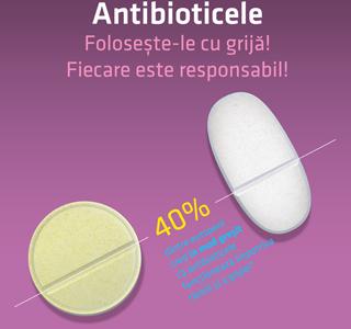 """Compania Antibiotice Iași susține Ziua europeană de informare despre antibiotice """"Antibioticele – folosește-le cu grijă! Fiecare este responsabil!"""""""
