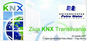 """Universitatea """"Petru Maior"""" din Târgu Mureş organizează """"Ziua KNX Transilvania"""""""