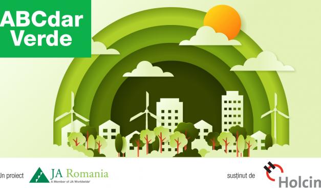 Junior Achievement și Holcim au finalizat prima ediție a proiectului ABCdar Verde