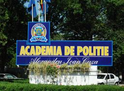 Încep înscrierile la Academia de Poliţie 'Alexandru Ioan Cuza'