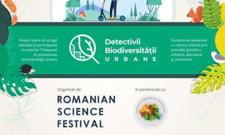 """Proiectul """"Detectivii biodiversităţii urbane"""" caută voluntari pentru cartografierea florei şi a faunei municipiului Timişoara"""