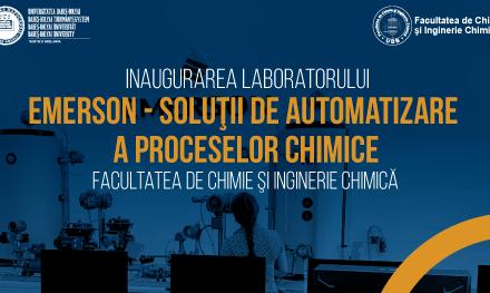 """Universitatea """"Babeş-Bolyai"""" din Cluj-Napoca a inaugurat un laborator de soluţii de automatizare a proceselor chimice"""