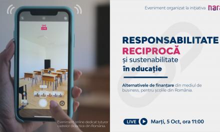 Narada anunță lansarea HartaEdu, proiect unic pentru educaţia din România
