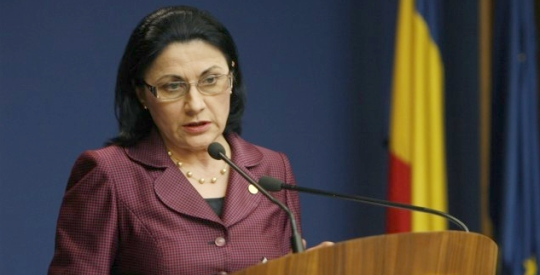 Ecaterina Andronescu: Anul acesta rezolvăm problema toaletelor în şcoli, avem 65 de milioane de lei alocaţi