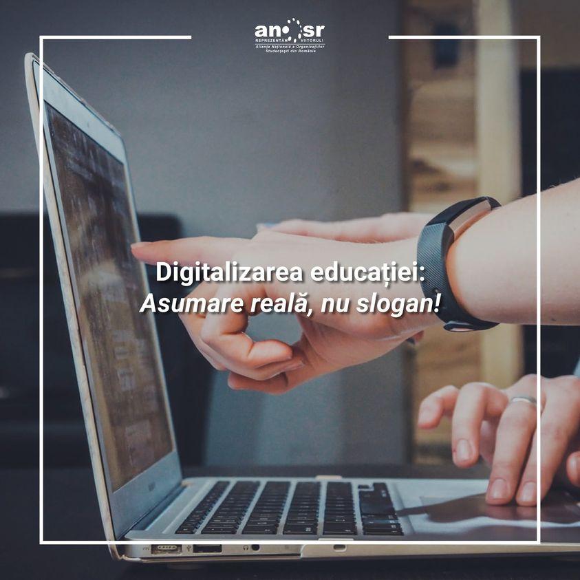 ANOSR: Transformarea digitalizării într-un proiect naţional a fost mai degrabă un slogan, decât o asumare reală
