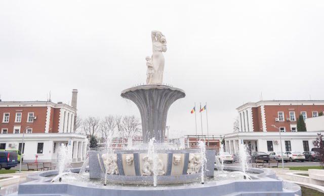 Parc inaugurat de Ziua Naţională a României de compania Antibiotice Iaşi