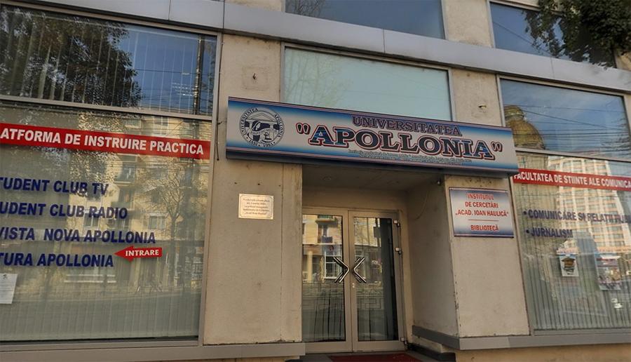 """Facultatea de Științe ale Comunicării a Universităţii """"Apollonia"""" anunţă programele de studiu pentru sesiunea de admitere din această vară"""
