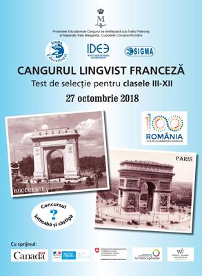 Start la Cangurul Lingvist – Franceză
