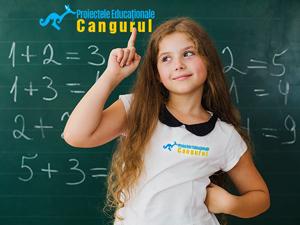 A fost prelungită perioada de înscriere la concursul Cangurul Matematician