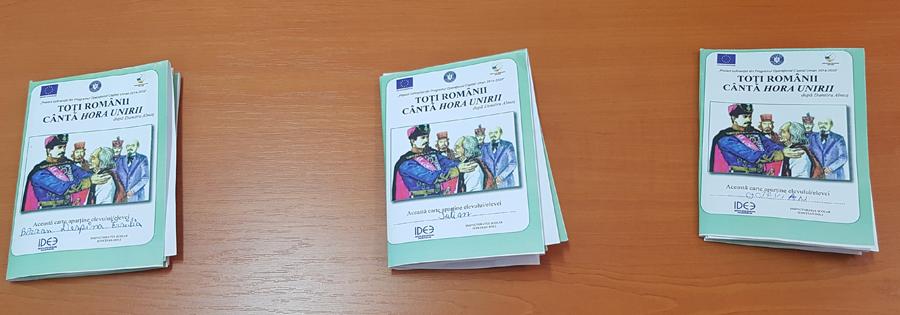 Cărțile vin la tine – biblioteca vie – Mica Unire