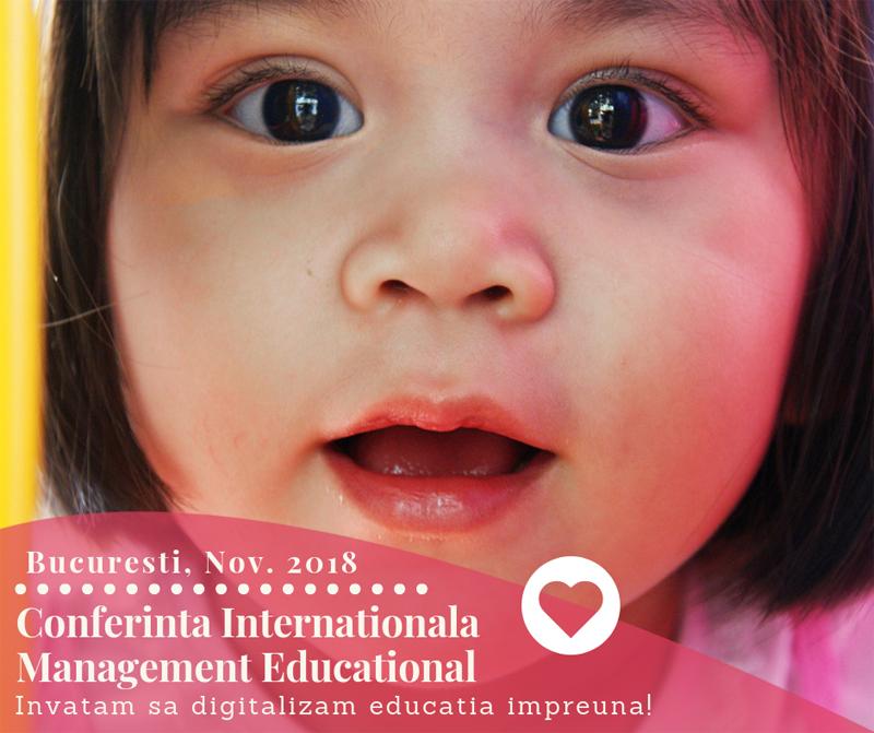 Conferința Internațională Digitalizarea Educației, ediția I: București, 23-25 noiembrie