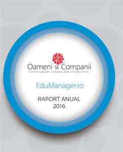 Raportul anual EduManager.ro 2016 este acum disponibil pentru descărcare gratuită