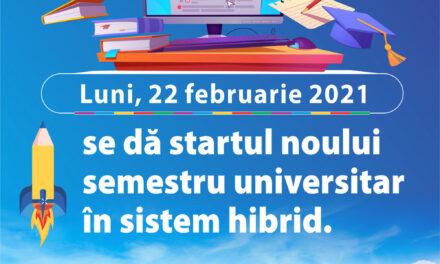 """Universitatea """"Danubius"""" dă startul noului semestru în sistem hibrid"""