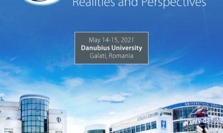 """Conferința Internațională pe tema Integrării Europene EIRP 2021, la Universitatea """"Danubius"""" din Galați"""