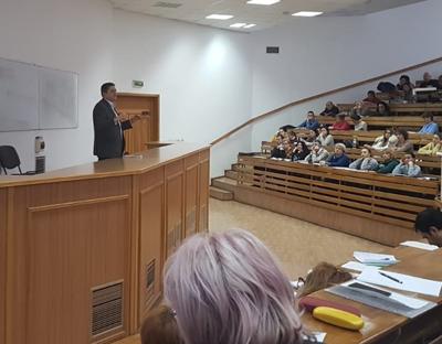 """Curs de expertiză contabilă judiciară pentru studenţii Facultății de Științe Economice a Universităţii """"Danubius"""""""
