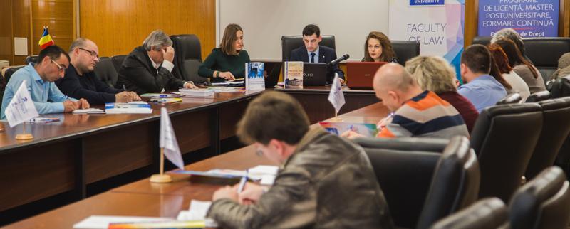 """Universitatea """"Danubius"""" a deschis primul curs postuniversitar """"Protecția juridică a datelor cu caracter personal"""""""