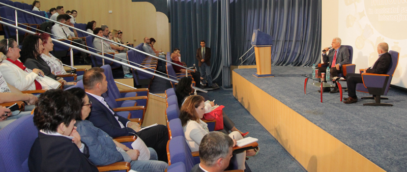 """Workshop intensiv despre drepturile și valorile minorităților naționale, la Universitatea """"Danubius"""""""