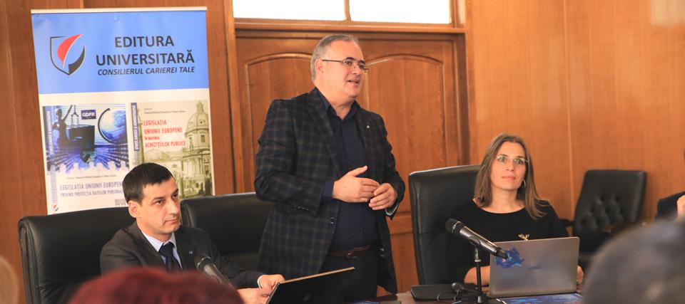 O nouă conferință națională pe tema protecției datelor personale, la Universitatea Danubius
