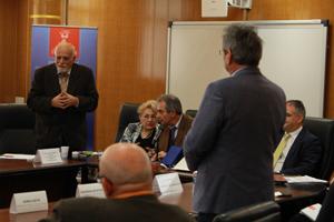 """Inițiative concrete pentru salvgardarea transportului naval, la Universitatea """"Danubius"""""""