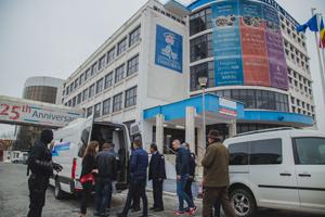 Pedeapsa închisorii, experimentată pentru o zi de către studenții Facultății de Drept a Universității Danubius
