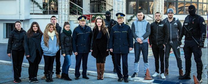 """O zi în penitenciar, o altfel de educație pentru viitorii penaliști de la Universitatea """"Danubius"""""""