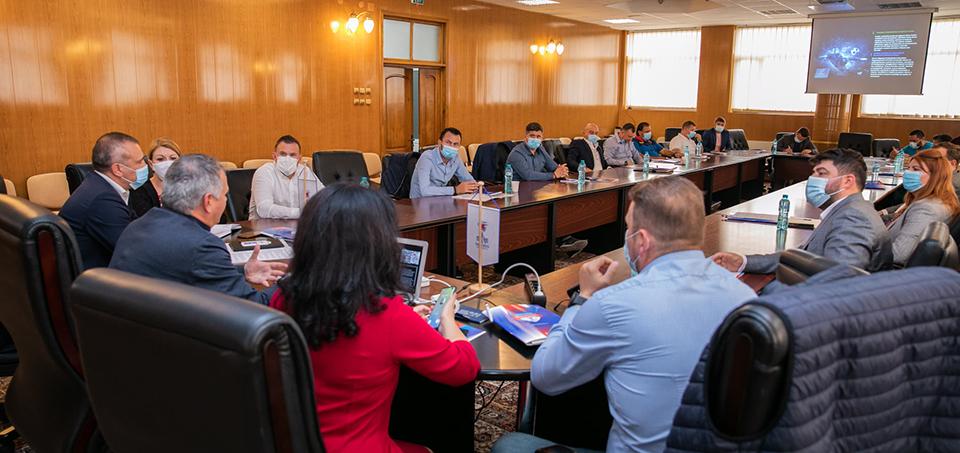 Eveniment dedicat dezvoltării sportului gălățean și regional, la Universitatea Danubius