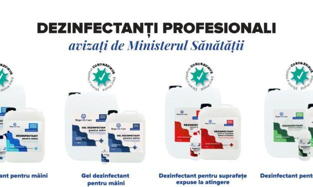 Alege produsele profesionale de dezinfectare de la Mega Life Care