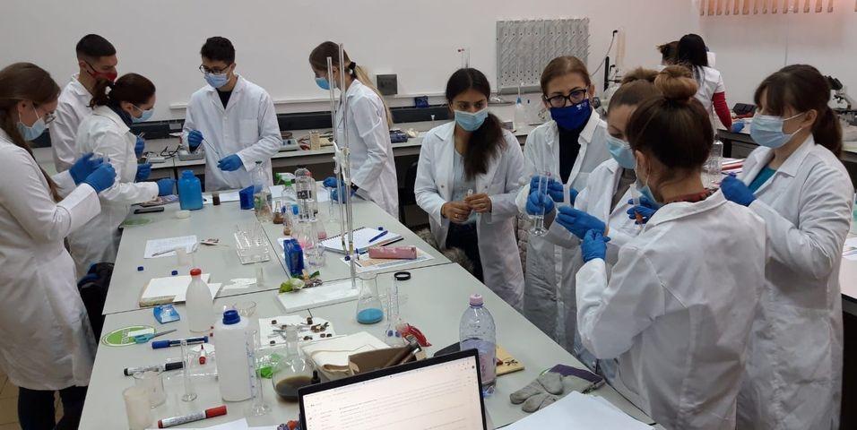 Studenţi ai USV sprijină voluntar activitatea Direcţiei de Sănătate Publică Suceava