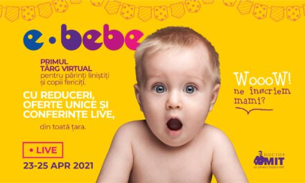 Târgul online pentru bebeluși, copii preșcolari și viitoare mămici care reunește peste 100 de retaileri și specialiști din domeniul medical
