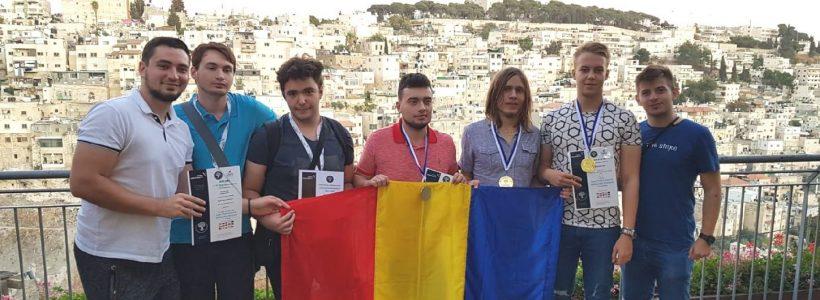 Medalii de aur pentru studenții TUIASI la finala Olimpiadei internaționale de matematică organizată de Universitatea Ariel din Israel