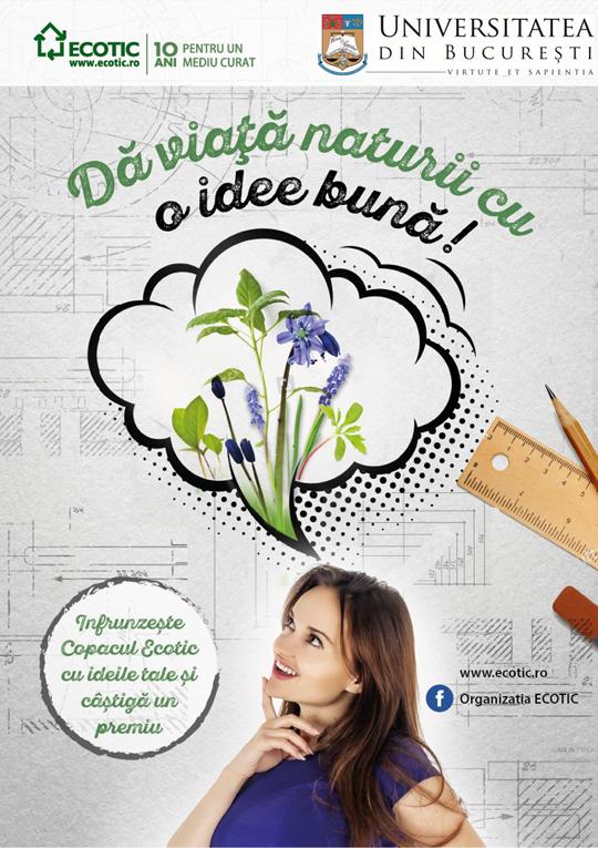 ECOTIC da viata naturii in universitatile din Bucuresti!