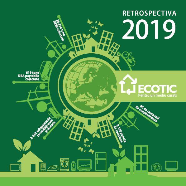 2019 – cel mai bun an în colectarea DEEE pentru ECOTIC