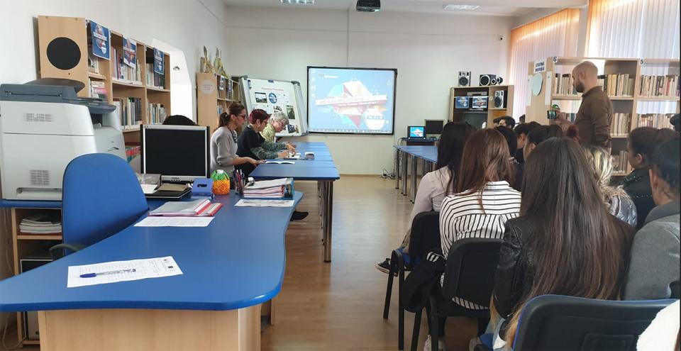 "#ErasmusDays 2019 sărbătorite la Colegiul Tehnic ,,August Treboniu Laurian"" de la Agnita"