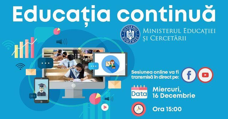 Întâlniri online de prezentare a noii programe de examen pentru Limba şi  literatura română