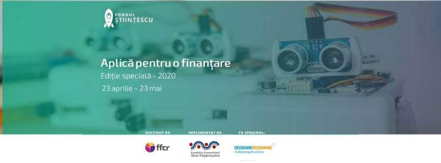 Fondul Științescu Țara Făgărașului: finanțări de peste 21.000 RON pentru proiecte educaționale în format digital
