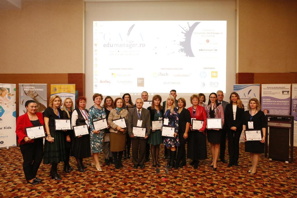 Proiectele de succes din Educație au fost premiate la ediția a VII-a a Galei Edumanager