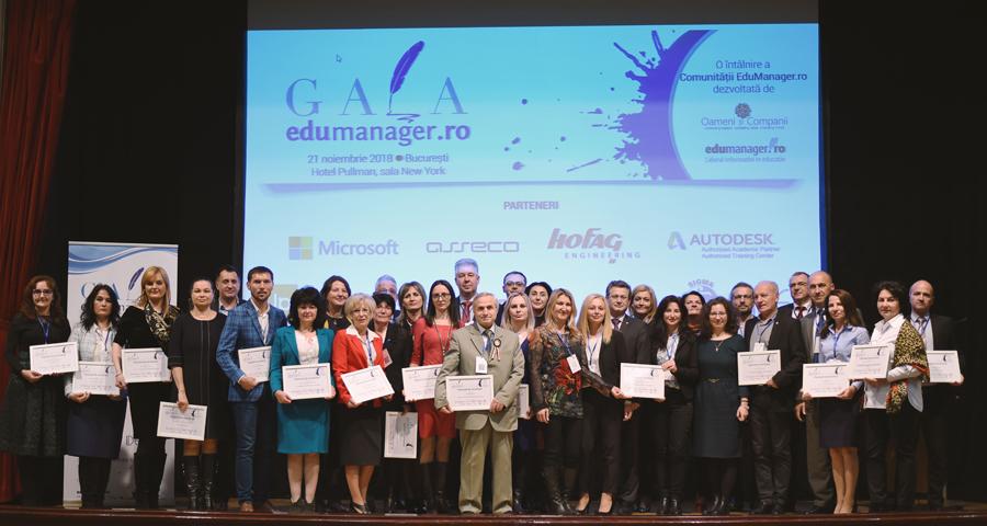 Proiectele de succes din Educație, premiate la ediția a VI-a a Galei Edumanager