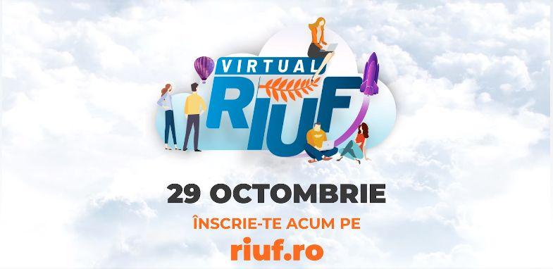 Peste 10.000 de elevi şi studenţi, înregistraţi pentru ediţia online a RIUF, participă peste 70 de universităţi