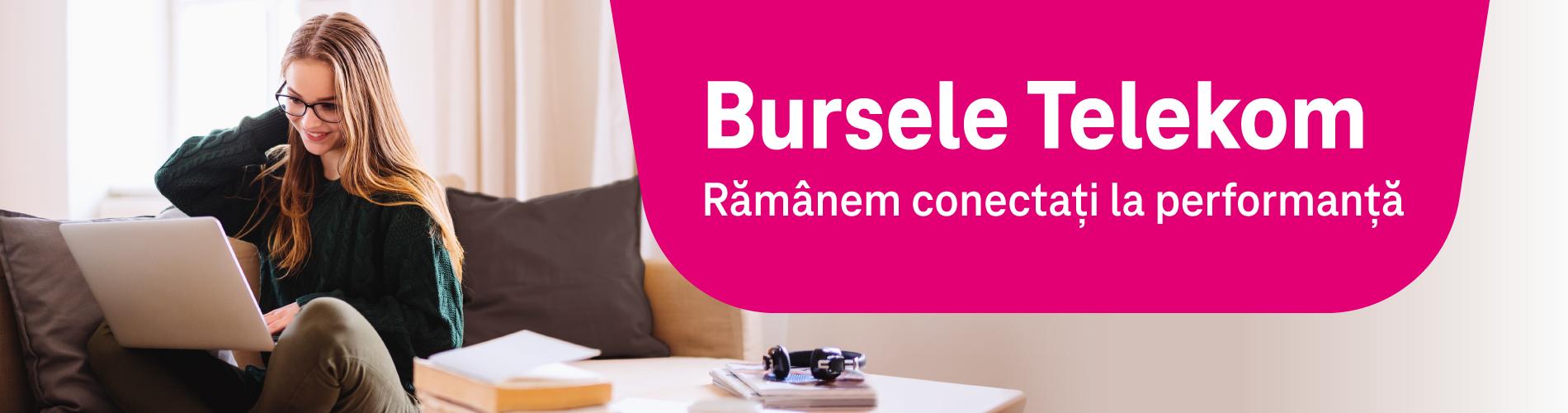 """Programul """"Bursele Telekom"""" susţine financiar cinci studenţi cu rezultate academice excepţionale"""