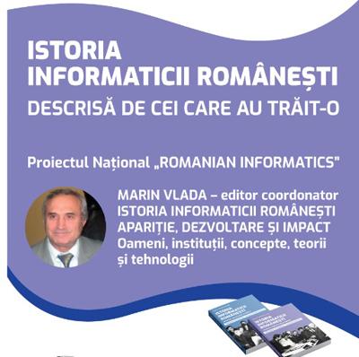 Istoria informaticii românești, descrisă de cei ce au trăit-o