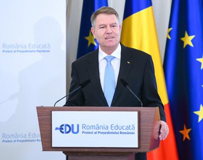 """Klaus Iohannis: """"România Educată"""" este un proiect strategic, nu programul meu electoral"""
