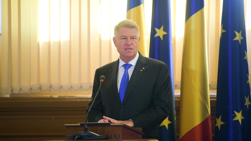 Klaus Iohannis: Educaţia din România ar trebui să formeze valori; din păcate, nu aceasta e regula, ci excepţia