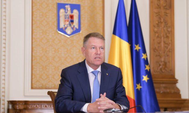 Klaus Iohannis: Iniţiatorii proiectului privind Regulamentul CNATDCU să ţină cont de îngrijorările şi riscurile sesizate în spaţiul public