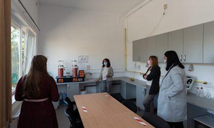 Laborator de management integrat al deşeurilor, inaugurat la UBB