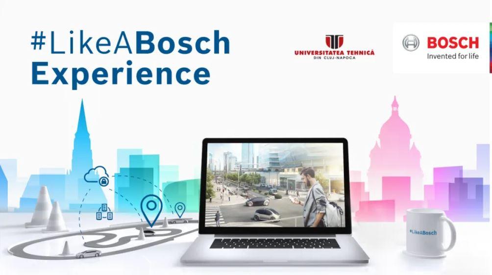 #LikeABosch Experience – un succes în relația UTCN – companii